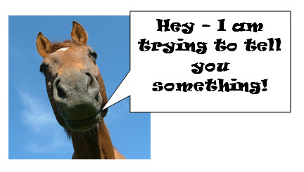 horse-telling-you-something
